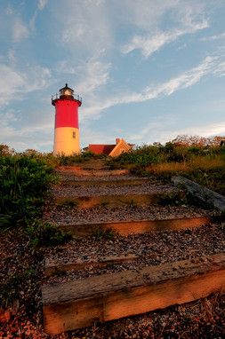 Nauset Light; Breaking Dawn