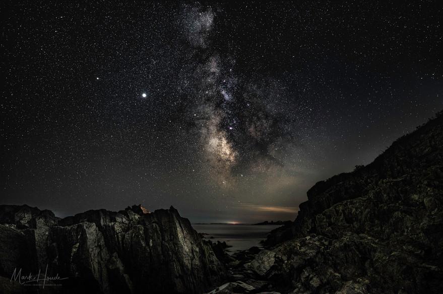 Milky-Way Over Maine