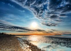 Rolling Clouds Sunrise