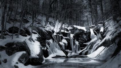 Deep Winter at Ender's Falls