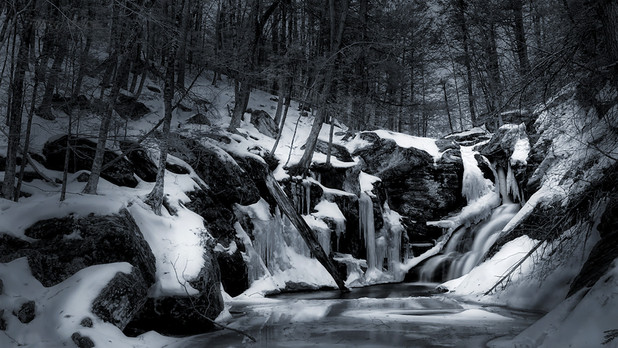 Deep Winter at Ender's Falls