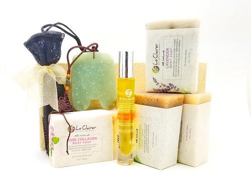 Gua Sha & Soap Gift Set