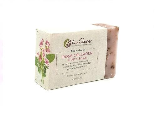 Rose Collagen Soap