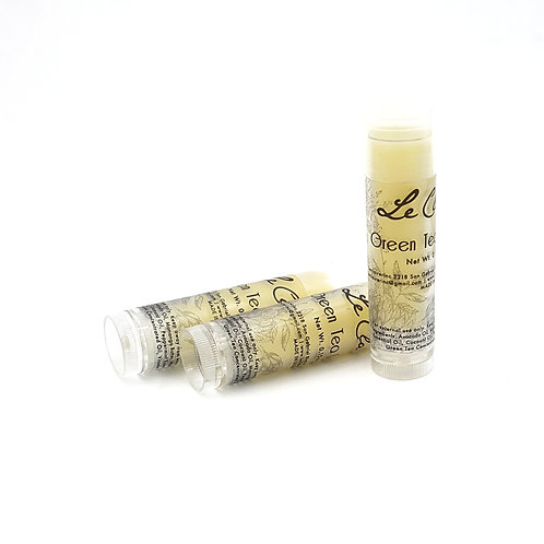 Green Tea & Peppermint Lip Balm