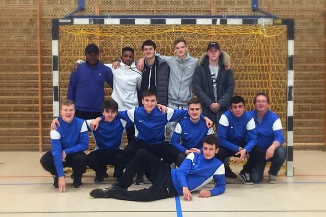 A-Jugend gewinnt Vorrunde der Hallenkreismeisterschaft in Viöl