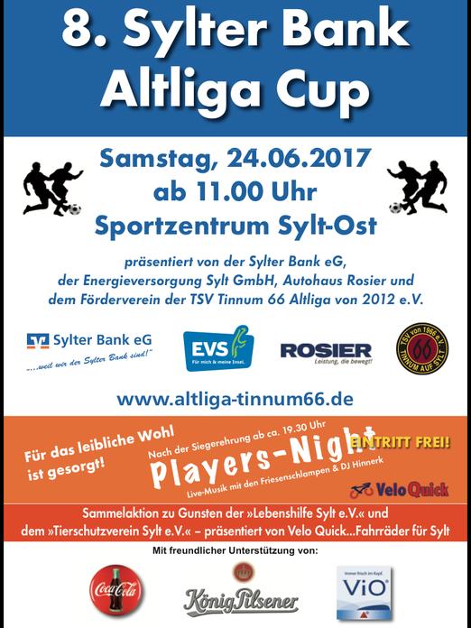8. Sylter Bank Altliga Cup
