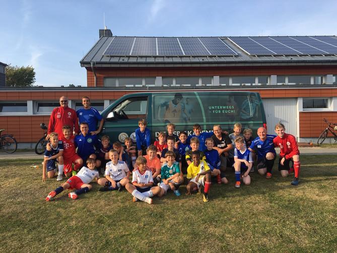 """DFB Mobil""zu Gast bei Team Sylt"