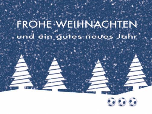 Frohe Weihnachten und ein schönes neues Jahr 2018