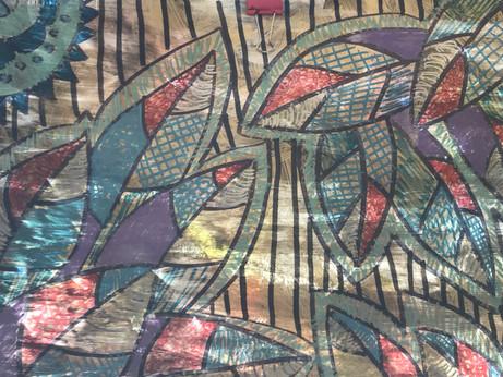 Schkeddy Leaves by Shante Schuler