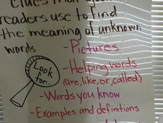 Class Anchor Charts