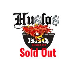 Husla's BBQ logo try...