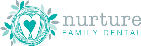 Nurture Family Dental Logo Horizontal