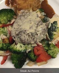 #steakaupoivre #steak #fillet #wegoingup #seasonedtoperfection #cantstopwontstop #chefyaser #cheflif