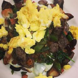 #ribeyesteak #skillet #breakfast #freshingredients #homecooking #chefyaser #cheflife #orlandpark _vi