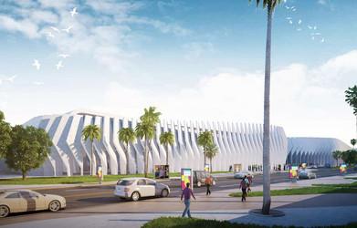 New Cairo Expo Facade