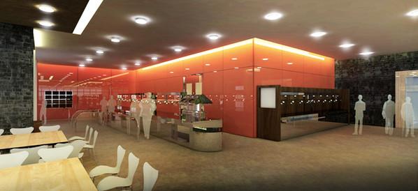 Gupco Cafeteria Interior Design