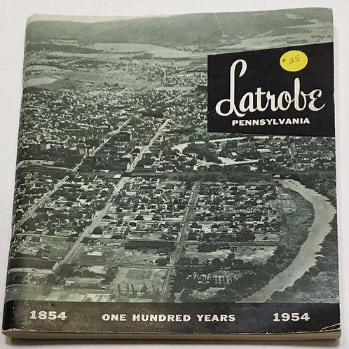 Book - Latrobe Centennial Book/Green