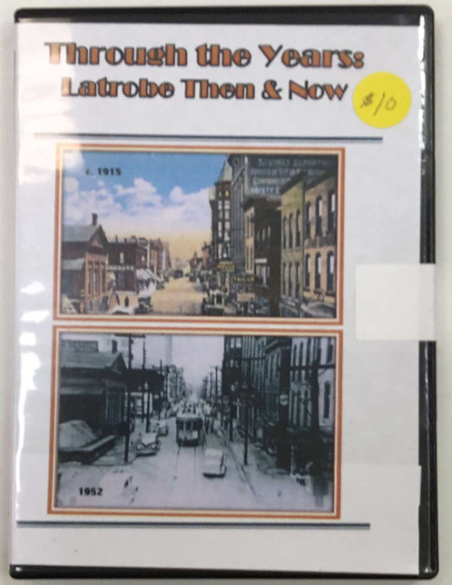 DVD – Through The Years - Then & Now