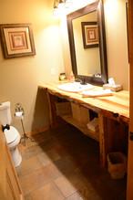 Custom Pine Bathroom Vanity
