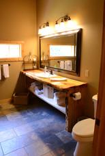 Live Edge Pine Bathroom Vanity