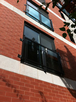 CB3 - Side mounted French Balcony