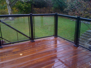 GR11 - Backyard Deck Railing