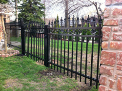 Aluminum Fence and Gate