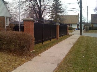 PVF4 - Standard Privacy Fence