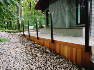 GR16 - Contemporary deck railing