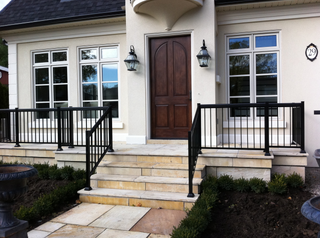 PR3 - Clean Front Entrance Railing