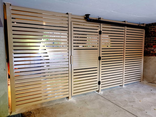 PVF12 - Horizontal Security Fence in beige