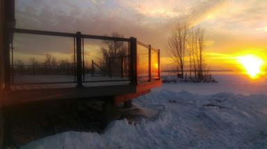 GR6 - Cottage deck railing