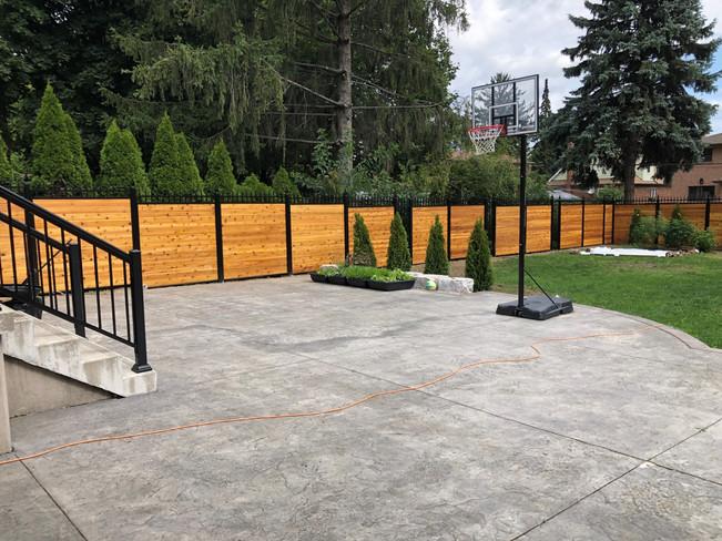PVF14 -Backyard Privacy Fence