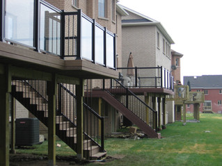 GR3 - Townhouse Backyard Glass Railing