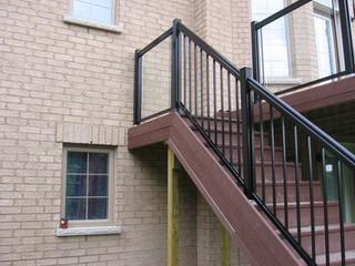 PR8 - Backyard Deck Railing