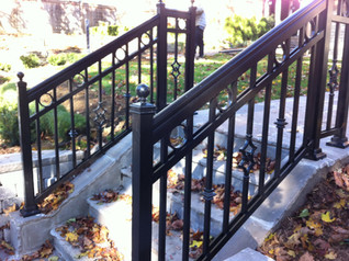 PR5 - Stair Railing with Accessories