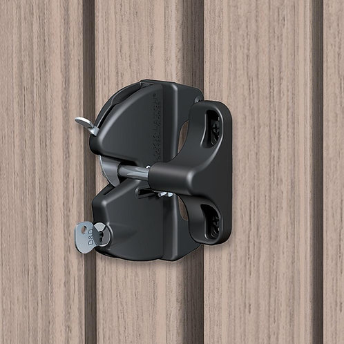 General Purpose Key Lockable Gate Latch