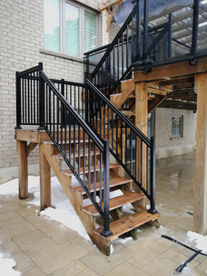 PR26 - Railing System for deck stairs