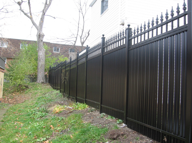 "PVF5 - A 6'6"" tall Privacy Fence"