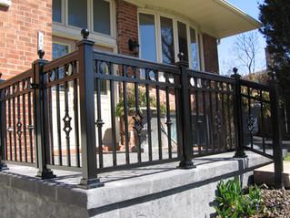 PR12 - Front Porch Railing