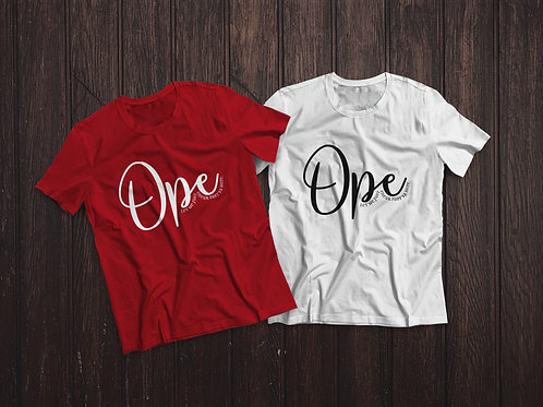 Ope, Let Me Sneak Past Ya Right Here    T-shirt