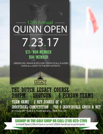 Golf Event Flyer
