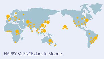 Happy Science dans le monde