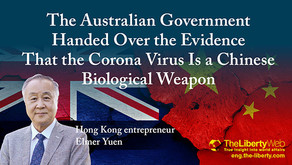 Le nouveau Coronavirus était bien une arme biologique chinoise