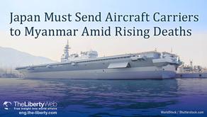 Le Japon doit envoyer des porte-avions au Myanmar en réaction à un bilan humain lourd
