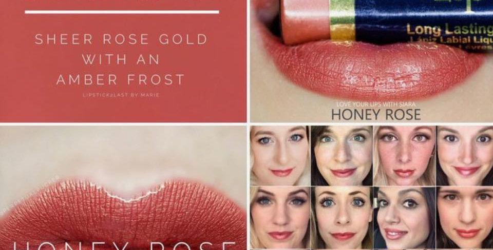Honey Rose Lipsense