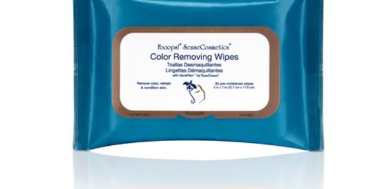 Fooops! SenseCosmetics Color Removing Wipes
