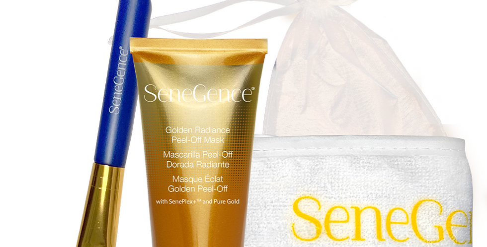 Golden Radiance Peel-Off Mask Kit