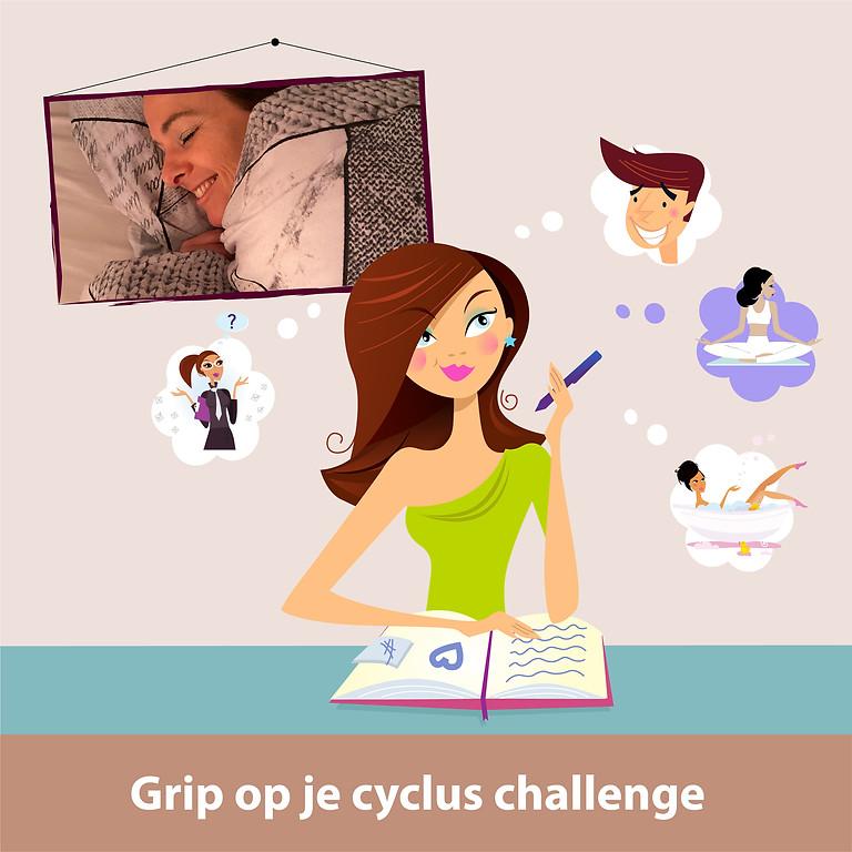 EVENT: Grip op je cyclus challenge (editie Sept. '21)