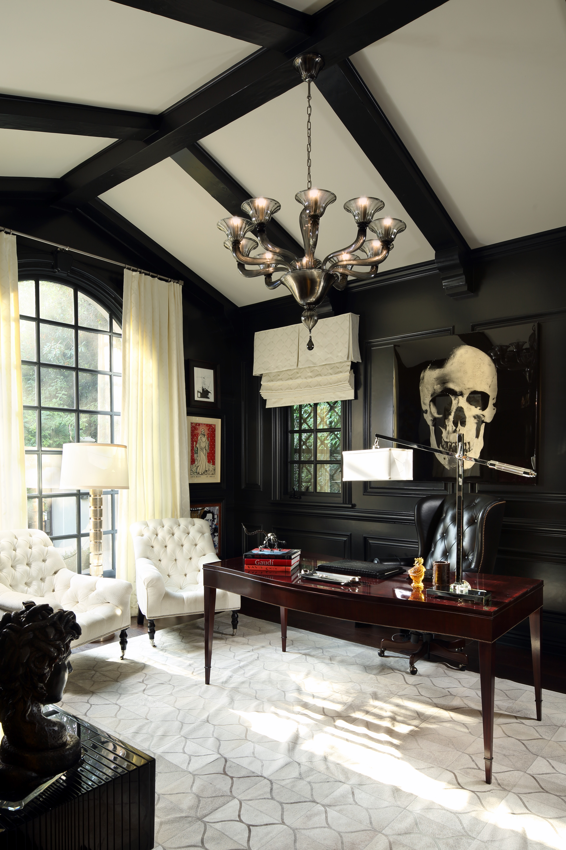 Jennifer Bevan Interiors: San Ysidro Dr. Beverly Hills
